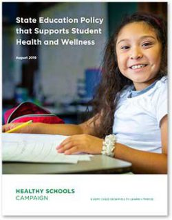 State Education Policy that Supports Student Health and Wellness | image of a smiling student