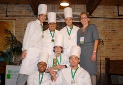 Richards Career Academy student chefs
