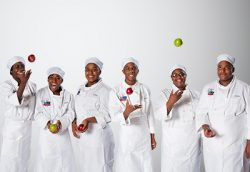 Chicago Vocational Career Academy student chefs