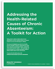 Addressing the Health-Related Causes of Chronic Absenteeism cover