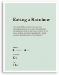 Eating a Rainbow Lesson Cover