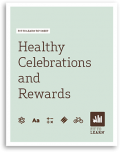 Fit to Learn Healthy Celebrations and Rewards Tip Sheet Cover