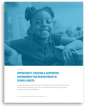 Creating a Supportive Environment for Reinvestment in School Health