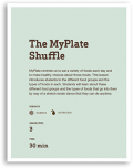 The MyPlate Shuffle Lesson Cover