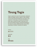 Young Yogis Lesson Cover