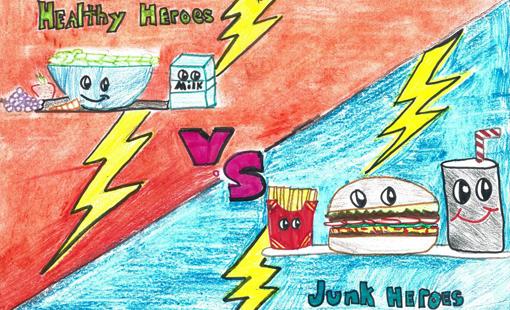 The Art Of Promoting Healthy School Food Healthy Schools Campaign