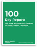cover of 100 day report