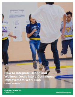 cover of How to Integrate Health and Wellness Goals into a Continuous Improvement Work Plan