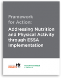 cover of Addressing Nutrition and Physical Activity through ESSA Implementation