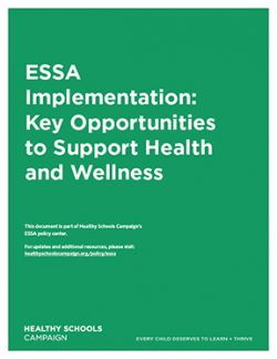 cover of ESSA Implementation: Key Opportunities to Support Health and Wellness