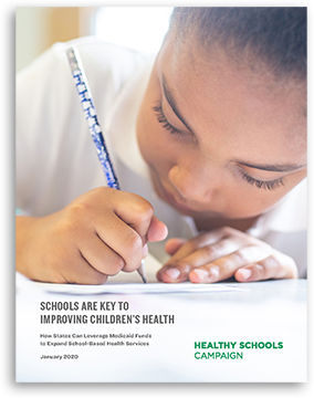 cover of Schools Are Key to Improving Children's Health