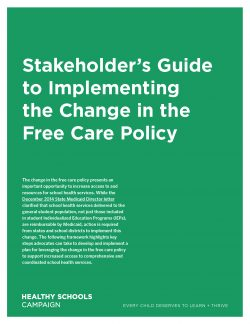 Cover: Stakeholder's Guide to Implementing the Change in the Free Care Policy