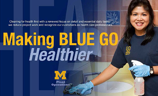 At Michigan Maize And Blue Makes Green Healthy Schools Campaign