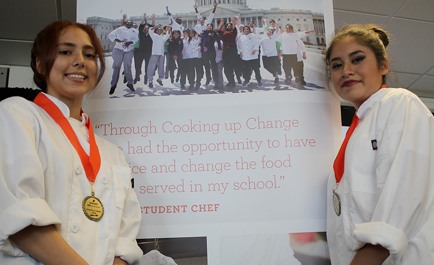 Houston Culinary Students Win Cooking Up Change With A Different Take On The Philly Sandwich