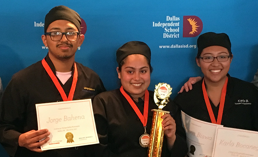 A Student Favorite Wins Cooking Up Change Dallas