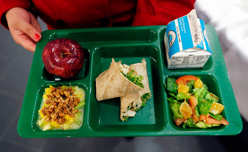 First 100 Days: Actions On Healthy School Food