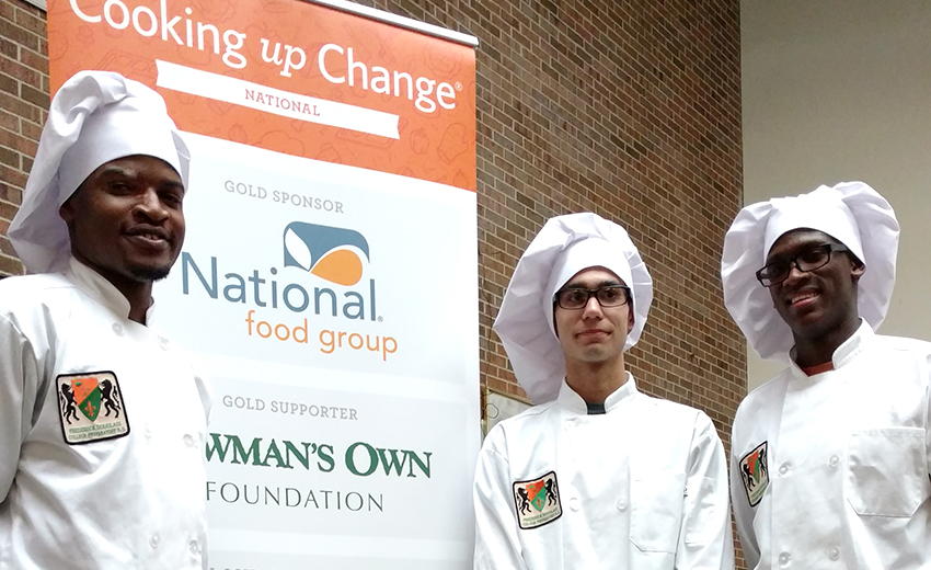 A Student Pick Wins Cooking Up Change Detroit