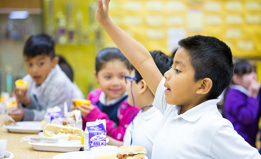 School Meals Are Part Of The Equation For Student Health