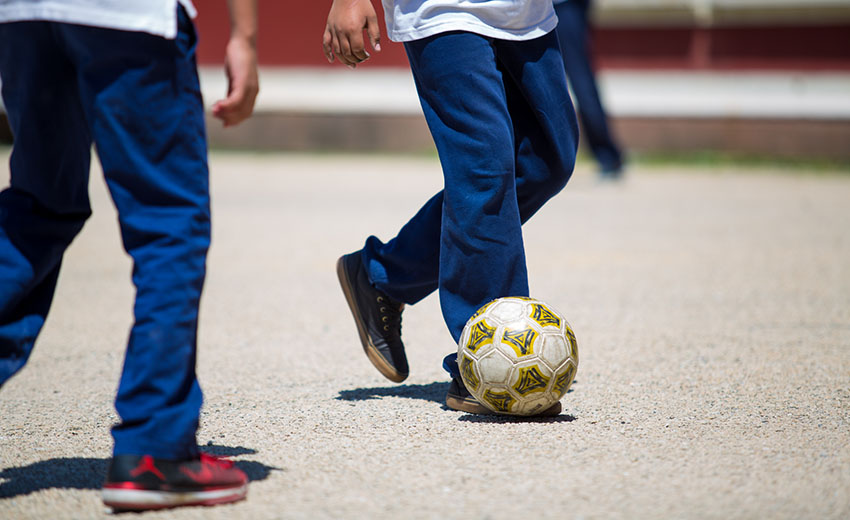 Soccer Playground Blog