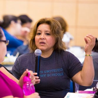 parent leaders organizing for health and justice in Chicago
