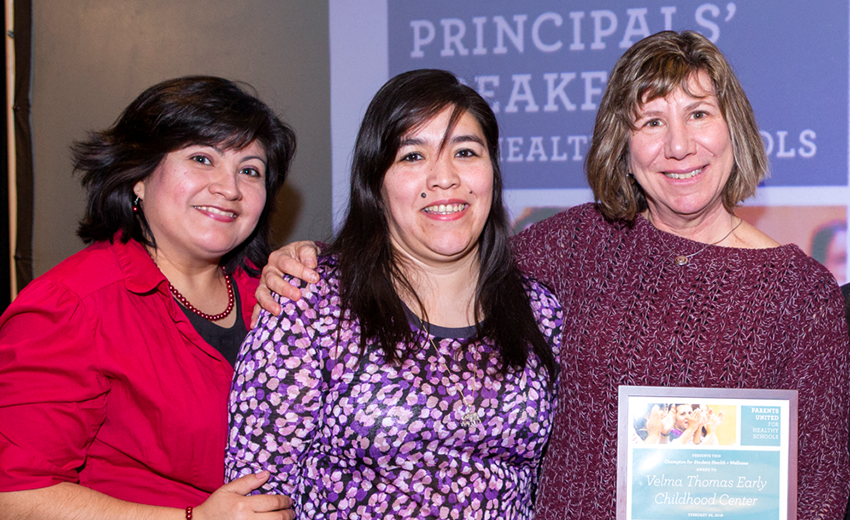 Patricia Morales At The 2016 Parents United Principals' Breakfast